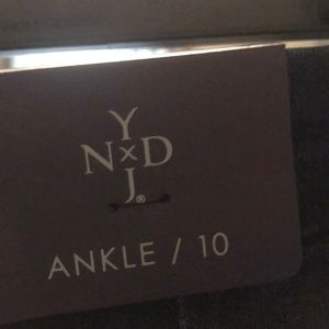 NYDJ ankle wide cuff fit